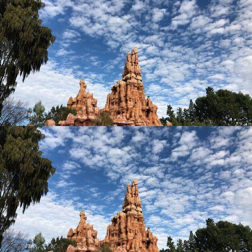 Big Thunder Mountain Railroad Disneyland California ArcyTakesPics Disneyland Cloud - Sky Bigthundermountain