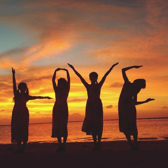 Sky Sunset Sea 南国 Resort Beach Friends 青春 Love