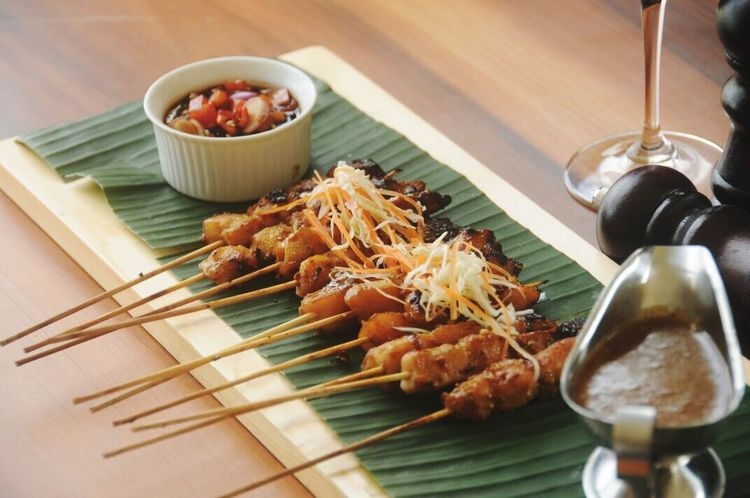 Indonesia Food Sataychicken Barbeque Menu Food And Drink Food Ready-to-eat Freshness Best Food In Town