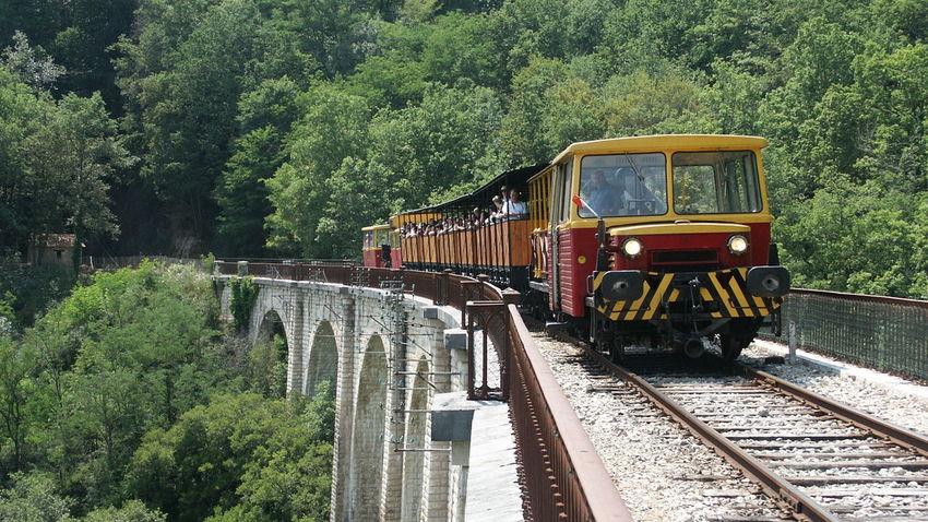 Bridge Brücke Eisenbahn Frankreich ♥ La France Museumsbahn Pont Railway