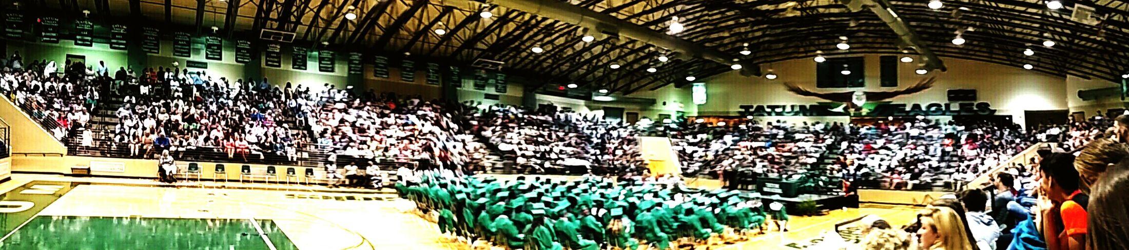 2016 Graduation Tatum High School Memories Christian Kustomz Portrait Getting Inspired Heart Panaramic Eagle Coliseum Coliseum Check This Out