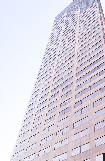 Architecture Skyscraper Low Angle View Building Exterior Modern Built Structure Outdoors City Day Corporate Business Sky Business No People Futuristic