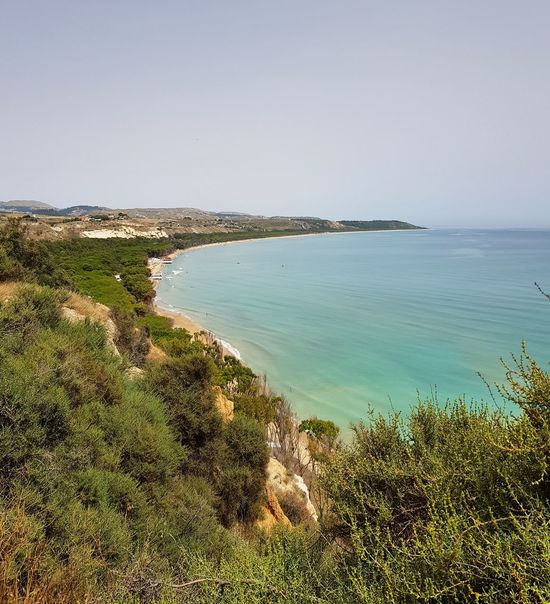 Panoramic Photography Agrigento Sicily Agrigento Panoramic Landscape Water Sea Beach Sand Sky Horizon Over Water Seascape Wave Coast