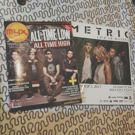 Bands Magazines Metric Alltimelow