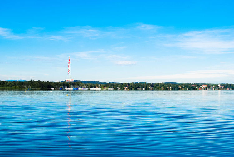 Abtauchen Blau Blue Boatrental Bootsverleih Calm Dive? Lake Nature No Boats No People Ocean Outdoors Sky Tranquil Scene Verleih Wasser Water Waterfront Where Is Nessie? The Great Outdoors - 2017 EyeEm Awards