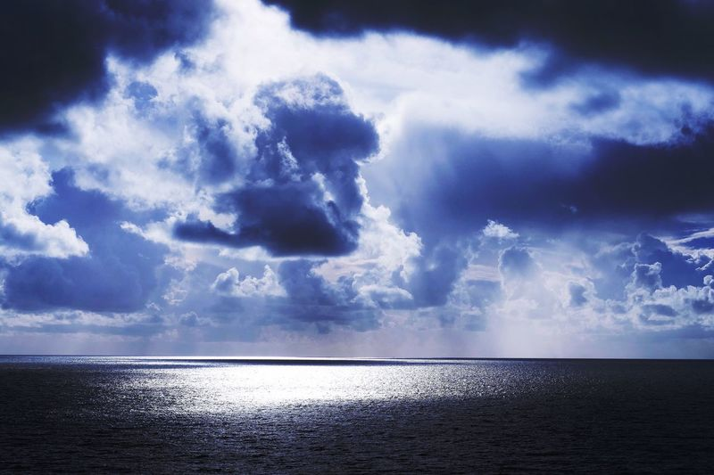 Clouds And Sky - Sea - Water Reflections - Landscapes - Water - Eye4photography  - Creative Light And Shadow - Light & Dark - Nature