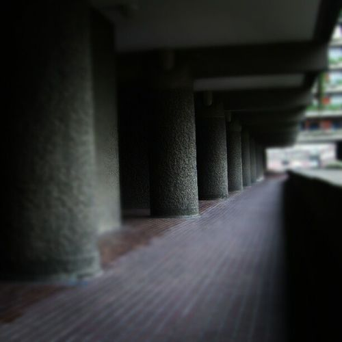 Barbican Walkway, London (2008). London Barbican Flickr Whpunderoverpass