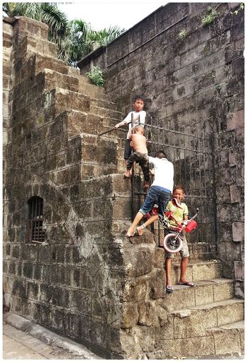Youth Intramuros,manila Hanging Out Snapshots Of Life Streetphotography Urban Lifestyle