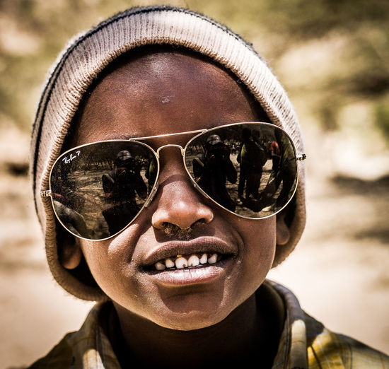 boy with big sunglasses African Style  Adult Sky Leicacamera Coolness Ray Ban EyeEm Portraits EyeEm Best Shots African Boy Lifestyles Looking At Camera Smiling Sunglasses Glasses Portrait