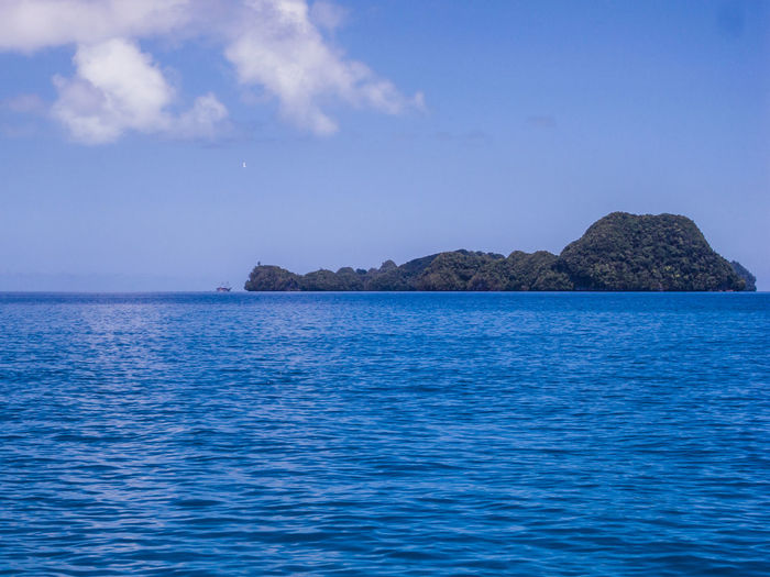 Rock island.