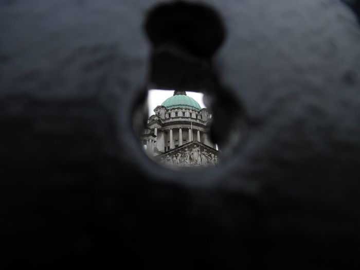 Maximum Closeness Close Up 10 Fresh On Eyeem  Focus On Background Travel Destinations Architecture Government Dome City Building Exterior No People Outdoors Day Northern Ireland Different View Point