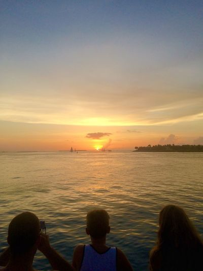 Sunset viewing at Mallory Square Sunset Celebration Key West Sunset Key West Mallory Square Skyporn
