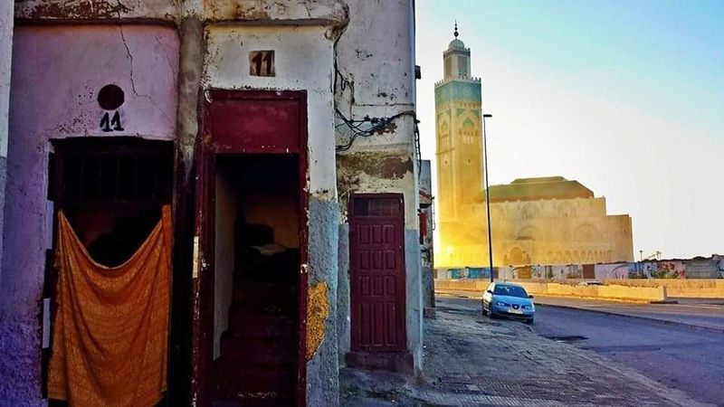 Mosquee Hassan II Casablanca Architecture Built Structure Street Style From Around The World Streetphotography Color Photography EyeEmNewHere EyeEmNowHere Photograph Multi Colored Lifestyles Travel Destinations City Life Architecture Neighborhood Map