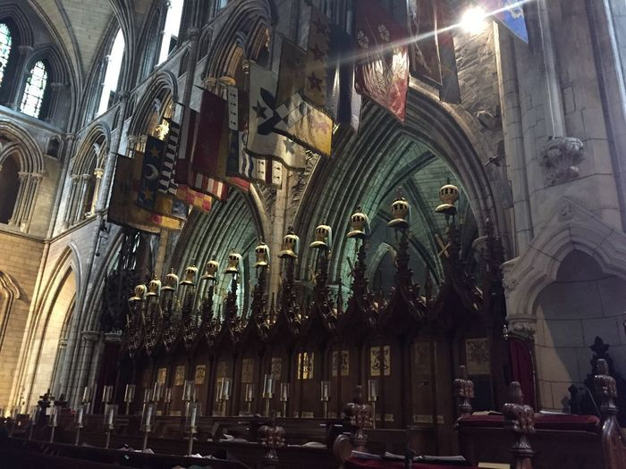 Architecture Religion Place Of Worship History Destinations Day No People Catholic Church Dublin, Ireland Church Cathedral Historical Building St Patrick's Cathedral Majestic Faith
