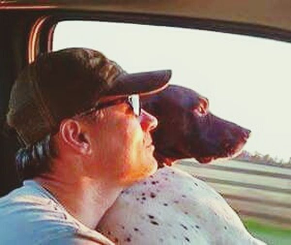 Wind In My Hair Country Road Countryroads Doggieinthewindow Rolling Stone Shotgun Rider Gsp Picturing Individuality Sunset Silhouettes German Shorthaired Pointer Dogsofeyeem Dogslife Photography In Motion