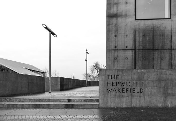 Architecture Blackandwhite Building Built Structure City Hepworth Gallery Outdoors Street Light Wakefield
