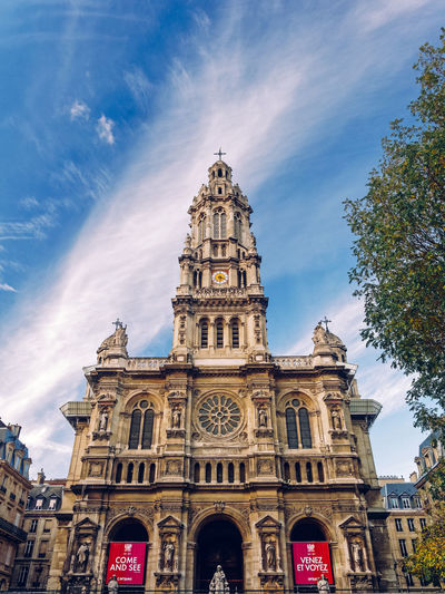 Sainte Trinité City Life EyeEm Best Shots EyeEm Premium Collection Eyeem Architecture Arch Architecture Building Building Exterior Built Structure Low Angle View Ornate Place Of Worship Religion Sky Spirituality Streetphotography The Past Tourism Travel Travel Destinations Urban