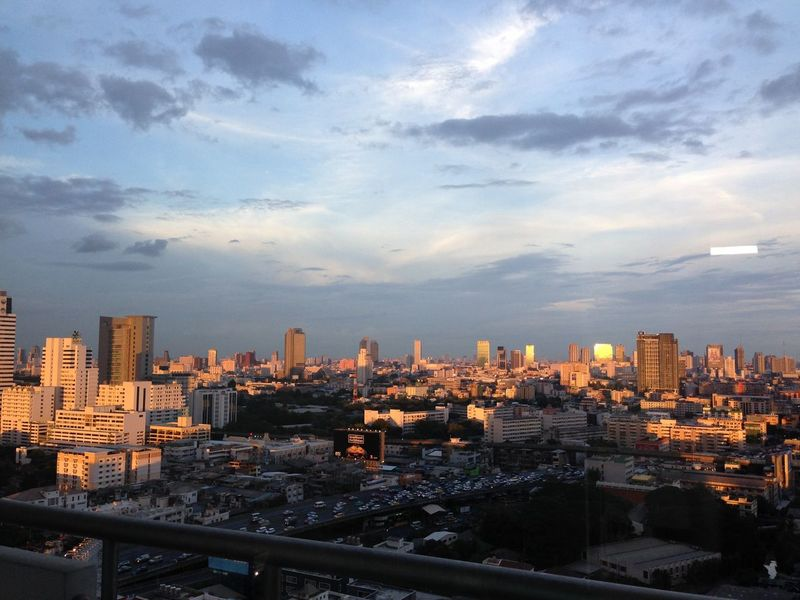 Summer Views Sky Skyporn Sunset Cityscapes Skyscrapers Cityscape Sunset_collection City Bangkok