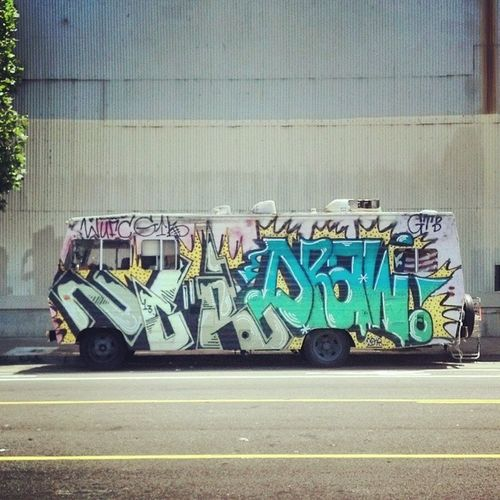 Introducing a new Friday series: VehiclesofSF Tgif Whenthiscampergetsrocking Affordablehousing