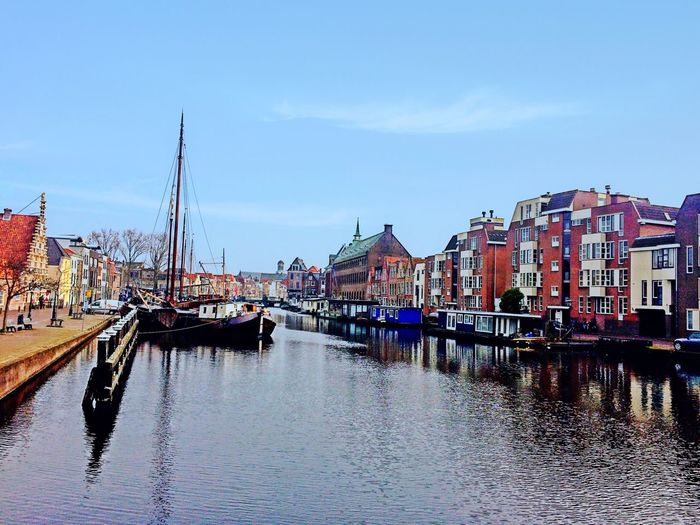 Leiden Canals Holland Netherlands Canal Beautiful IPhoneography Reflection