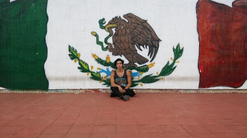 Mexico Flag URBAN OUTFIT National Pride Wallpaint GrungeStyle Taking Photos First Eyeem Photo First Eyeem Photo