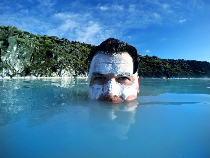 Water One Man Only Only Men One Person Adults Only Mid Adult Adult Mid Adult Men Portrait Front View People Swimming Day Headshot Looking At Camera Outdoors Swimming Pool Real People Sky Underwater Skin Mask Mask EyeEm Selects Sommergefühle Mix Yourself A Good Time
