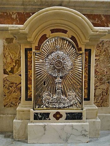 Baroque Baroque Architecture Holy Art No People Silver Jewelery Sanctuary  Santuario No People,