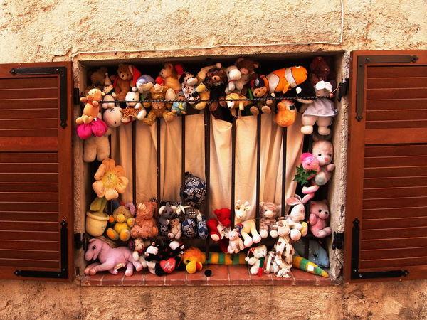 Carcassone, France Tourist Window Teddies Teddies And More Teddies Teddies Vacations