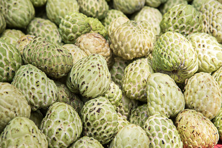 Full Frame Shot Of Custard Apple