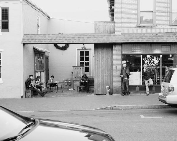 Streetphoto_bw Streetphotography Capture The Moment Streetphotography Urbanphotography Coffeeshop Street Musicians West Chester TheCreatorClass Fujifilm Xpro1 Fujifilm_xseries The Street Photographer - 2016 EyeEm Awards