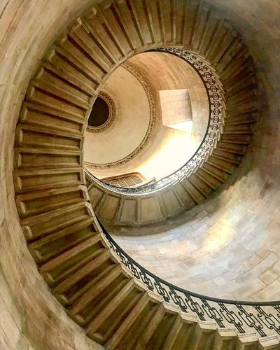 Stairway to..? Stairs Staircase Spiral Steps Architecture Design Stpauls Cathedral Religion History Harrypotter London Photography