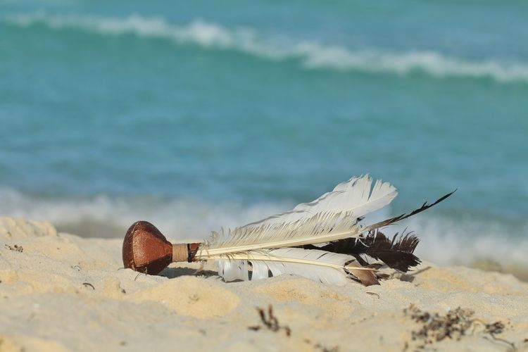 Sand Beach No People Water Sea Day Nature Outdoors Sea Life UnderSea Sport Beach Peteca Mexico Plumage Ball Argentina Tipical