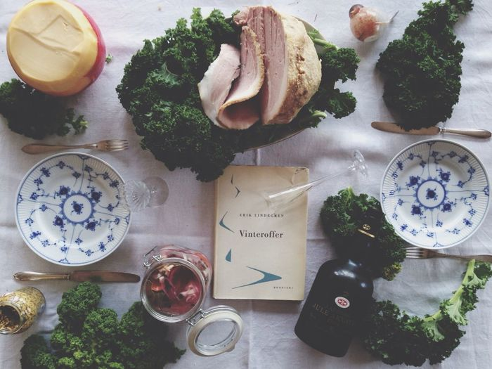 Vinteroffer Food Light And Shadow Nature Colors Christmas Books Home Lunch