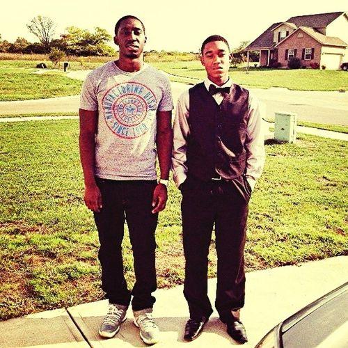 Me and my big Bro on homecoming #Tbt