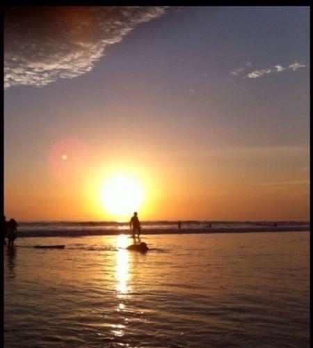 Possibly Romantic Moments Beach Photography Enjoying The Sunset Pantai Kuta (Kuta Beach) finished