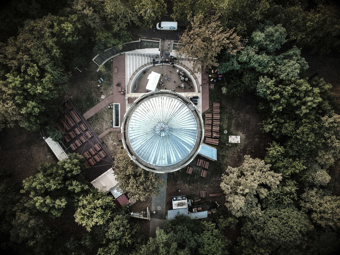 Other perspectives Dronephotography Dji Spark Dji Nature Forest Tree Directly Above High Angle View Circle Close-up Globe Circular Architectural Design Round