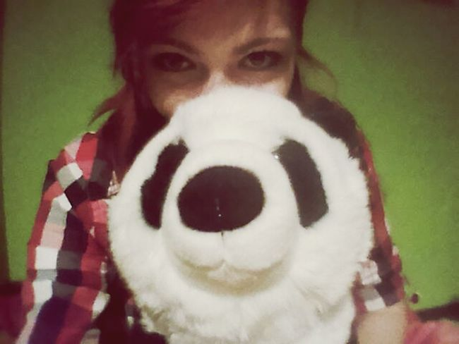 Its so fluffy!! Panda That's Me Hello World Self Portrait