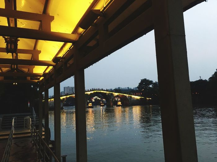 Built Structure Architecture Bridge Water Bridge - Man Made Structure Connection HUAWEI Photo Award: After Dark