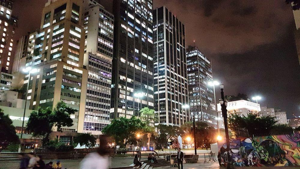 Saopaulowalk Saopaulo_originals Saopaulocity São Paulo Sao Paulo - Brazil Saopaulo Anhangabau Lights