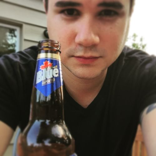 Beer Canadianbeer Chilling JustMe Happy4thOfJuly Selfie ✌