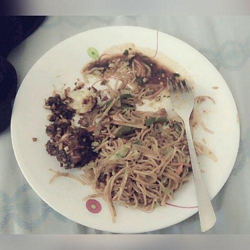 Manchurian Noodles Funatlalitya 's with @s01black @wordacadabra