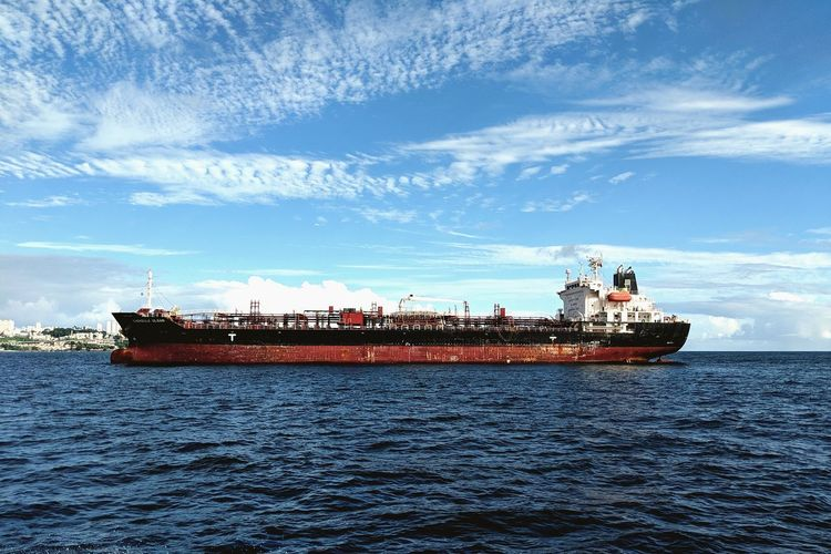 Nautical Theme Cargo Ship Life Onboard Nautical Vessel Water Sea Freight Transportation Shipping  Blue Crew Sky Tall Ship Ship Sailing