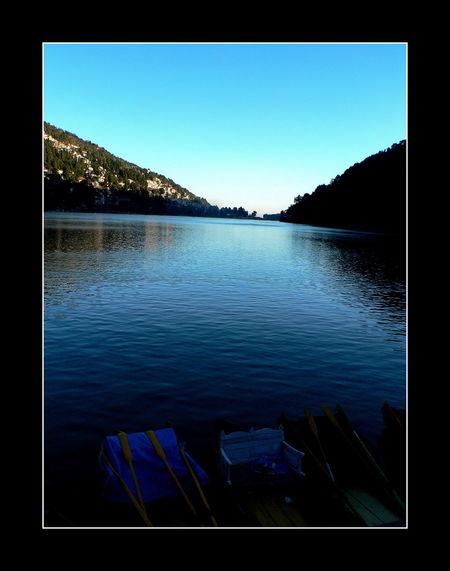 Beauty In Nature Hill Station Idyllic Idyllic Scenery Nainital Lake Naintal Pictorial Pictorials Scenery Shots Scenic Shades Of Blue Shades Of Nature Uttranchal