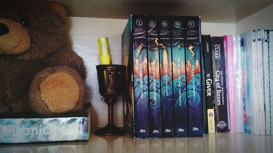 Bought Percyjacksonandtheolympians at Nationalbookstore for the Valentinesday. Hell yeah! ?