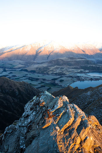 Wanaka Beauty In Nature Environment Geology Land Landscape Mountain Nature No People Non-urban Scene Outdoors Power In Nature Rock Rock - Object Royspeak Scenics - Nature Sea Sky Solid Sunset Tranquil Scene Tranquility Volcano Water