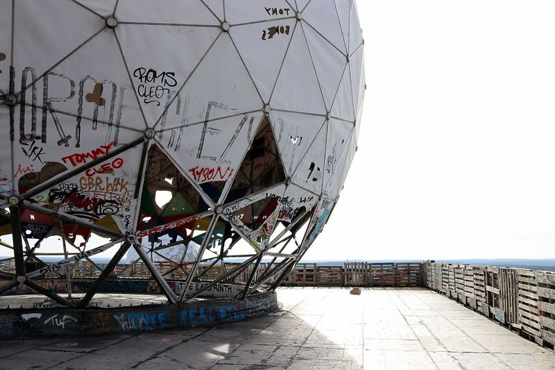 Berlin Teufelsberg Teufelsberg Berlin First Eyeem Photo Spring Germany Outdoors Photograpghy  Outdoors Lostplaces Abhörstation Teufelsberg Grafitti The Secret Spaces