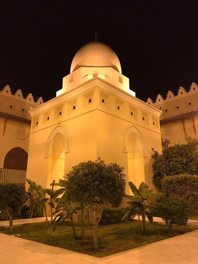 قبه داخل مسجد الميقات ب المدينة_المنوره