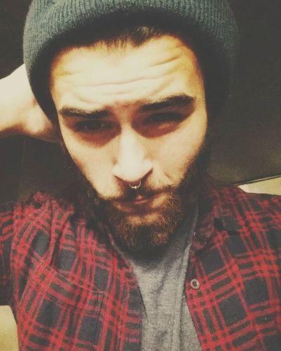 Beard Beardlife Beardgang Onpoint Lumberjack Happybeard Septum Flannels Guyswithbeards Fuckrazors Indie Pale Weed High Yaydrugs