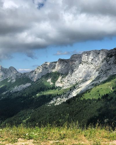 Cloud - Sky Sky Mountain Beauty In Nature Plant Scenics - Nature Nature Tranquil Scene Tranquility Mountain Range Environment Summer Road Tripping
