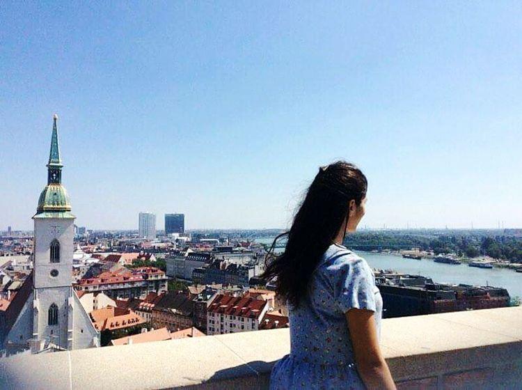 Bratislava City! Danube River